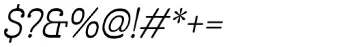Cabrito Inverto Con Italic Font OTHER CHARS
