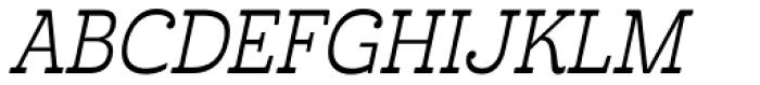 Cabrito Inverto Con Italic Font UPPERCASE