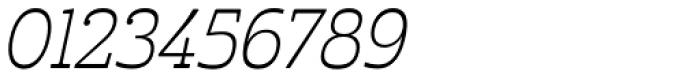 Cabrito Inverto Con Light Italic Font OTHER CHARS