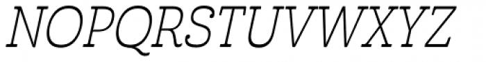 Cabrito Inverto Con Light Italic Font UPPERCASE