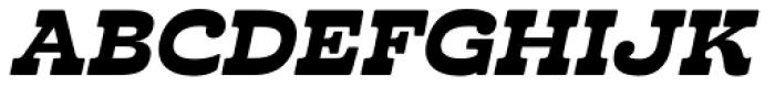 Cabrito Inverto Ext Black Italic Font UPPERCASE