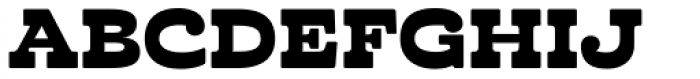 Cabrito Inverto Ext Black Font UPPERCASE