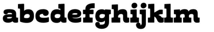 Cabrito Inverto Ext Black Font LOWERCASE
