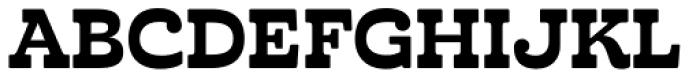 Cabrito Inverto ExtraBold Font UPPERCASE