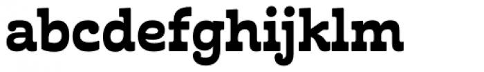 Cabrito Inverto ExtraBold Font LOWERCASE