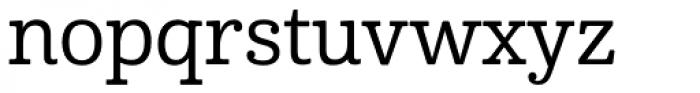 Cabrito Medium Font LOWERCASE