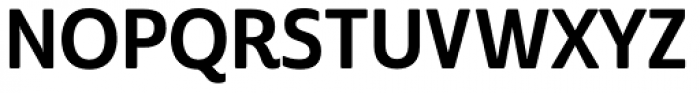 Cabrito Sans Con Bold Font UPPERCASE