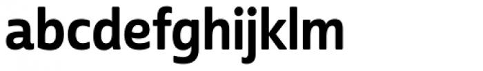 Cabrito Sans Con Bold Font LOWERCASE