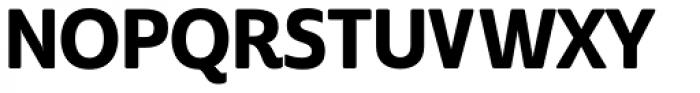 Cabrito Sans Con Extra Bold Font UPPERCASE