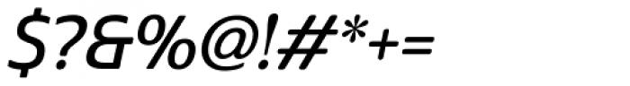 Cabrito Sans Demi Italic Font OTHER CHARS