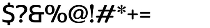 Cabrito Sans Demi Font OTHER CHARS