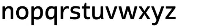 Cabrito Sans Demi Font LOWERCASE
