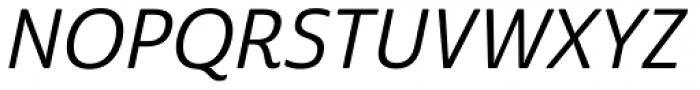 Cabrito Sans Medium Italic Font UPPERCASE