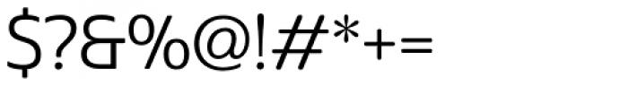 Cabrito Sans Regular Font OTHER CHARS