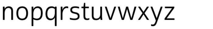 Cabrito Sans Regular Font LOWERCASE