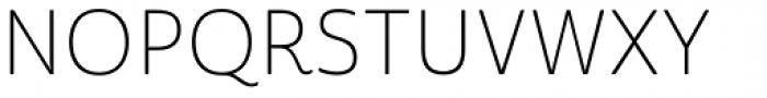 Cabrito Sans Thin Font UPPERCASE