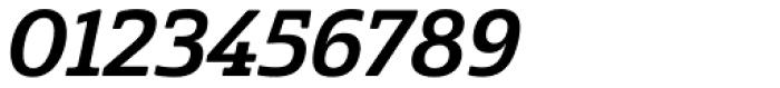 Cabrito Semi Bold Italic Font OTHER CHARS