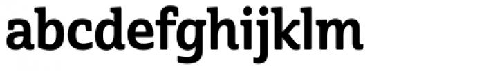 Cabrito Semi Con Bold Font LOWERCASE