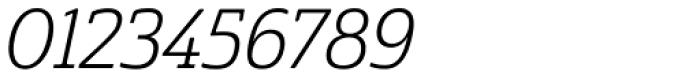 Cabrito Semi Con Book Italic Font OTHER CHARS