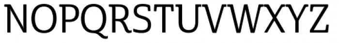 Cabrito Semi Con Medium Font UPPERCASE