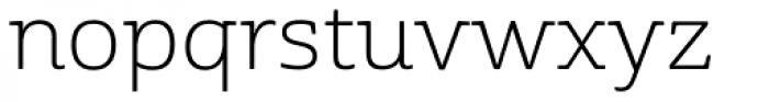Cabrito Semi Ext Light Font LOWERCASE