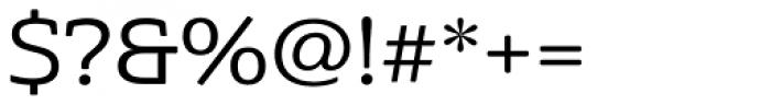 Cabrito Semi Ext Medium Font OTHER CHARS