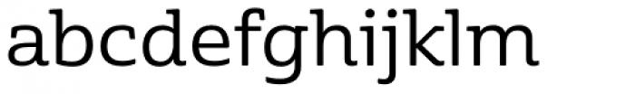 Cabrito Semi Ext Medium Font LOWERCASE