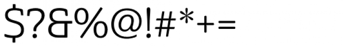 Cabrito Semi Regular Font OTHER CHARS