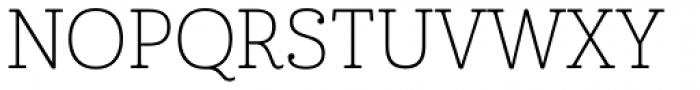Cabrito Thin Font UPPERCASE