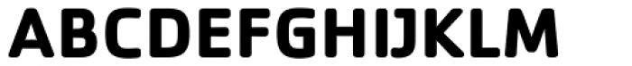 Cachet Bold Font UPPERCASE