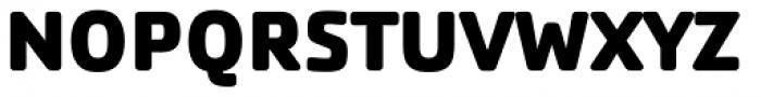 Cachet Pro Heavy Font UPPERCASE