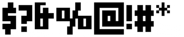 Cachiyuyo Bold Font OTHER CHARS