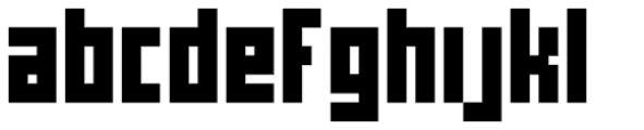 Cachiyuyo Bold Font LOWERCASE