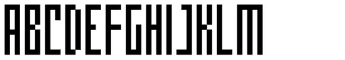 Cachiyuyo Font UPPERCASE