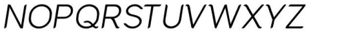 Cacko Italic-Book Font UPPERCASE