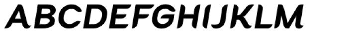 Cacko Italic Fat Font UPPERCASE