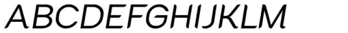 Cacko Italic Medium Font UPPERCASE