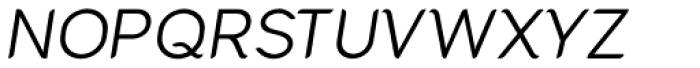 Cacko Italic Regular Font UPPERCASE