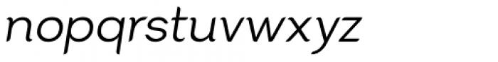 Cacko Italic Regular Font LOWERCASE