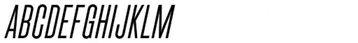 Cactus Medium Italic Font UPPERCASE