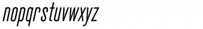 Cactus Medium Italic Font LOWERCASE