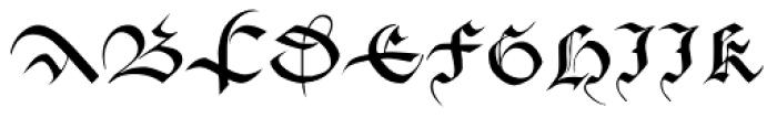 Cadeaulx Font UPPERCASE