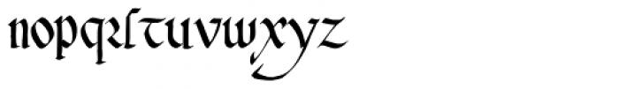 Cadeaulx Font LOWERCASE
