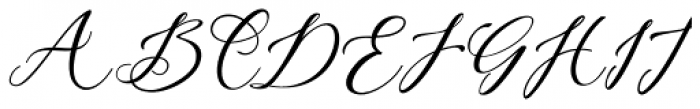 Cadina Regular Font UPPERCASE