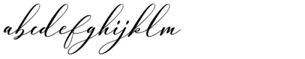 Cadina Regular Font LOWERCASE
