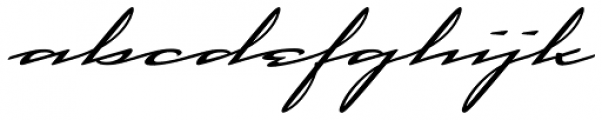 Cadogan Font LOWERCASE
