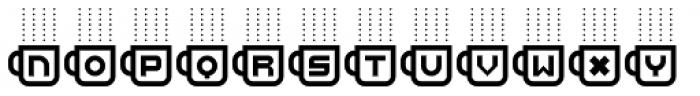 Cafe Fumante Font UPPERCASE