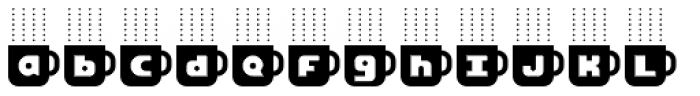 Cafe Fumante Font LOWERCASE