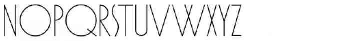 Cafe Society Monoline JNL Font UPPERCASE