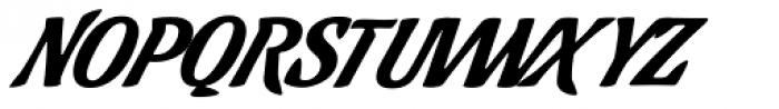 Cafelatte Alt Font UPPERCASE